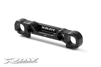 XRAY XB808 Alu Front Lower Susp. Holder - Front - Square Adj. Roll-Center 352323