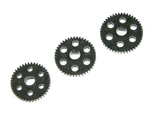 Atomic Spur gear set 40T/42T/44T xr-048