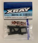 XRAY Rear Suspension Arm Long Left - Graphite 303174-G