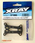 XRAY X1'19 Graphite Arm Mount Plate - Wide Track Width - 2.5mm 371065