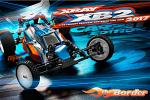 XRAY XB2 2017 - 2WD 1/10 Buggy Kit - Carpet Edition 320002