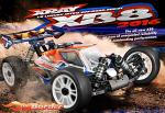 XRAY XB8 2016 Specs - 1/8 Luxury Nitro Off-Road Car 350011