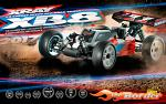 XRAY XB8 2017 Specs - 1/8 Luxury Nitro Offroad Car 350012