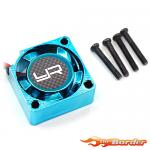 YEAH RACING Tornado High Speed Cooling Fan Blue (25x25x10mm) YA-0201BU