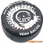 Yeah Racing 1/10 Tire Cover For 1.9 Crawler Wheels - Adventure Life TRX4-063