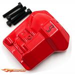 Yeah Racing Alloy Diff Cover For Traxxas TRX-4 Red trx4-047rd