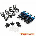 Yeah Racing Alu Big Bore Shocks 50mm for Touring Cars (4pcs) BBG-0050BU