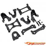 Yeah Racing Alu Upgrade Parts Set Set For Traxxas TRX-4 (Complete) TRX4-S03