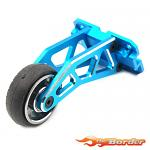 Yeah Racing Alu Wheelie Bar for WR02 GF01 - Blue TAWR-010BU