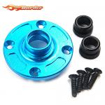 Yeah Racing Alu. Differential Unit Cover for TA-06, XV-01, TRF201 Blue TATA-005BU