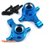 Yeah Racing Alum. Front Steering Knuckle Set For TT-01/-01E TATT-037BU