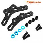 Yeah Racing Carbon Damper Stay Set for TRF Long Dampers For Tamiya M07 TAMC-061