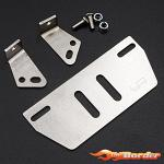 Yeah Racing Stainless Steel Front/Rear Fender for Traxxas TRX-4 TRX4-043