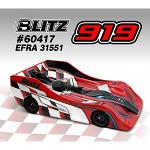BLITZ 919 1/8 Onroad Body 0.8mm Version 60417-08