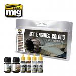 MIG Ammo Jet Engines Colors Weathering Sets MIG7445