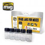 MIG Ammo Spare Jars for Mixes 4x35ML 8033