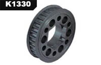 K-factory Mtx3 Hard coated alloy ligt 32t pulley k1330