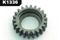 K-factory MTX3 H.coated light 22t clutch gear k1336