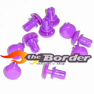 MUGEN Head protector (purple) b0426