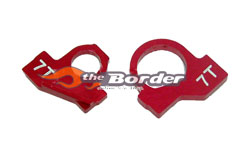 GPM mr-02 Alloy motor gear plate for 6T mr2032red