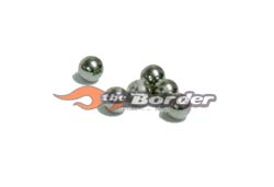 GPM Carbon Ball for 1/8 Differential 6pcs. mr2108