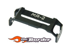 GPM Alloy steering plate holder for MR02 1pc.mr2009blk