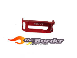 GPM Alloy steering plate holder for MR02 1pc.mr2009red