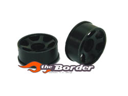 GPM Delrin Front dented rims 2pcs. +2.5 OF dmr20603kf