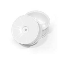 Hudy Wheels Aerodisk - White - Extra Hard (4) 803010