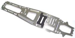 K-factory 3mm Alloy Chassis (V-One-RR) with carbon plate k1144T