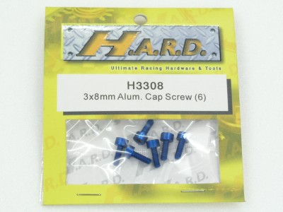 HARD 3x18mm Alloy Cap Screw (6) h3318