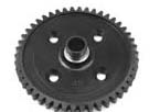 XRAY XB8 Center Diff. Spur Gear 46T - Hudy Steel 355050