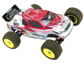 New 3-racing Mini-T body with wing mt-039