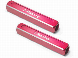 3Racing 13mm Chassis Droop Gauge Blocks ( 2 Pcs ) - st-003/r