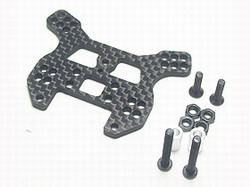 3Racing Carbon Rear shock Tower Mini-Inferno mif-009/wo