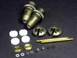 RD Logics Hard coated shock set (2) rv-001