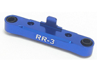 3-Racing Rear Suspension Holder ( 3 Degree ) - Blue Color For Mini Inferno mif-028/bu