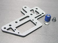 3-Racing SSG Carbon Steering Servo Plate For Mini Inferno mif-046/sg
