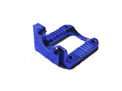 BRP Blue Alloy Motor Mount for Mini-Inferno 12405 blue
