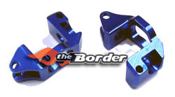 BRP Alloy Front Caster Blocks For Mini-Inferno brp 12417 blue