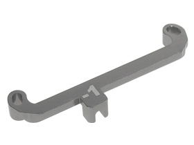 3 Racing Front Toe In Out Linkage -2 Degree For Mini-Z AWD awd-10/-2
