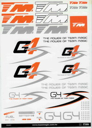 TM G4S Decal (295x210mm) 118006