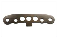 Kyosho front lower suspension plate (gun metalic) ifw-127