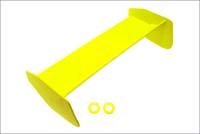Kyosho nylon wing fluor yellow bsw71ky