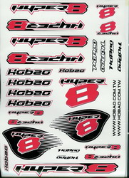 Ho Bao Decal Sheet Hyper 8 HB-DM8