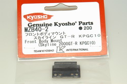 Kyosho front body mount (skyline 2000gt-r kpgc10) mzb40-2
