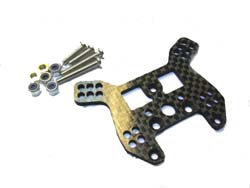 Carbon Rear Shock Tower for Kyosho Mini Inferno 12408