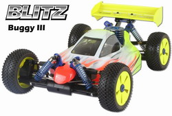 BLITZ Buggy III 1/8 Kyosho Bodyshell for  MP777 SP2/ H.N X1-CR 60503