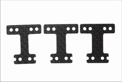 Kyosho carbon rear suspension plate set (MR-02/RM type) mzw214