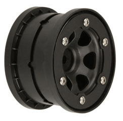 "PROLINE Epic 2.2"" black/bead-loc for Slash Rear Wheels (2) 2705-02"
